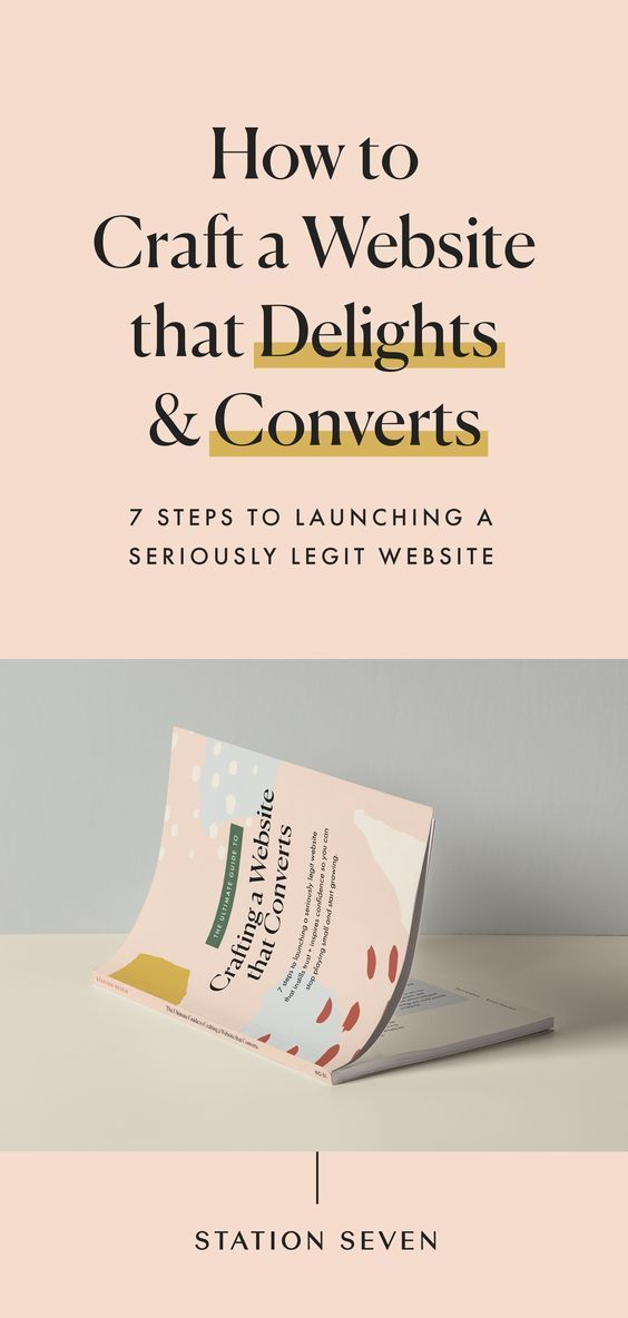 Grab these 7 steps to launching a seriously legit #web site that instills trust +…