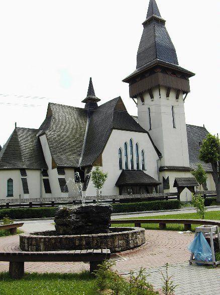 Slovakia, Oravská Lesná - Church of St. Anne