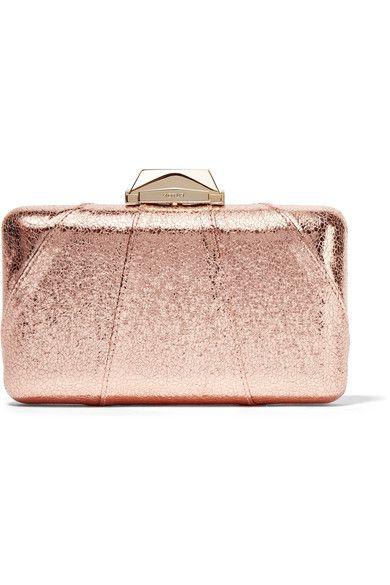 8508bdea90e KOTUR Espey metallic faux textured-leather clutch. #kotur #bags #shoulder  bags #clutch #metallic #leather #hand bags #