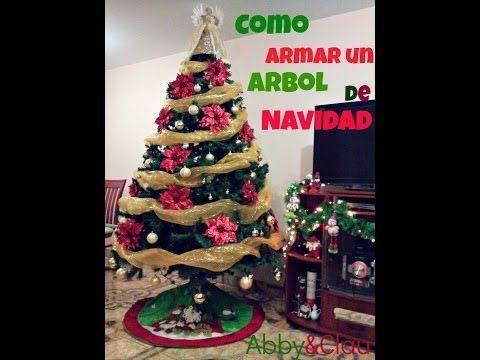 Como Armar El Arbol De Navidad Arbol De Navidad árboles De Navidad Decorados Navidad
