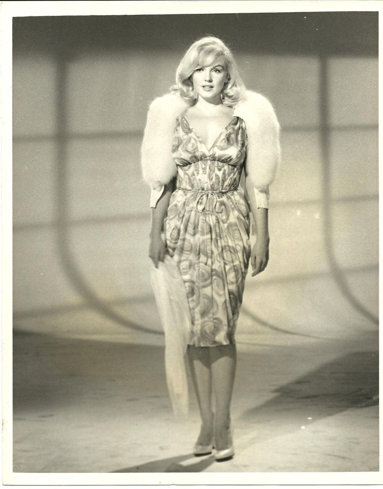 "Marilyn Monroe wardrobe test for ""The Misfits"" 1960"