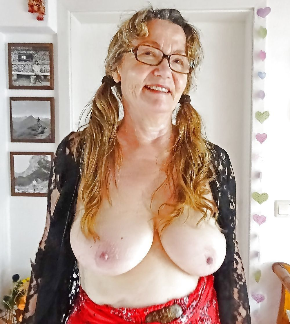 old grannies with natural big tits love to flash them 25