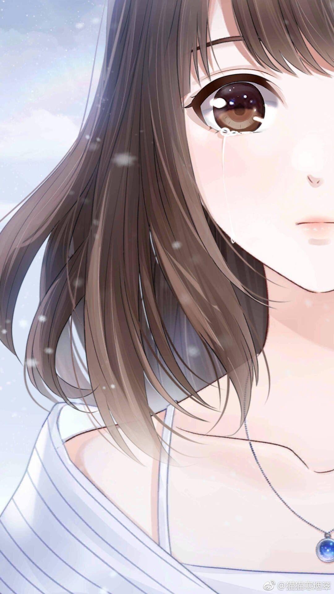 Love And Producer Gadis Animasi Ilustrasi Karakter Gambar