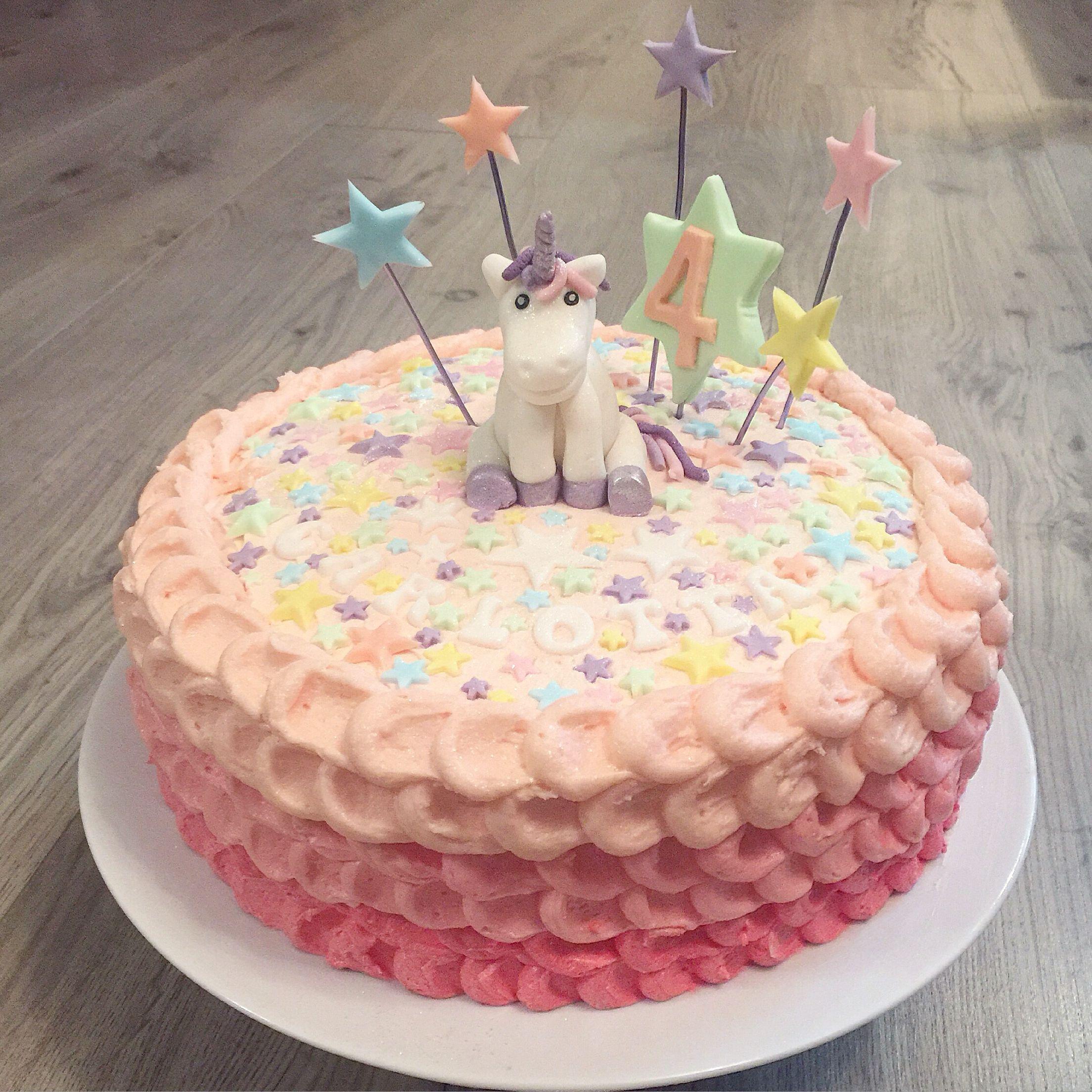 einhorn geburtstagstorte birthdaycake fondant unicorn meine torten. Black Bedroom Furniture Sets. Home Design Ideas