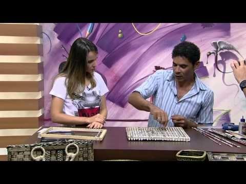Mulher.com 19/03/2015 José Paulo Silva - Sousplat trançado de jornal Parte 1/2 - YouTube
