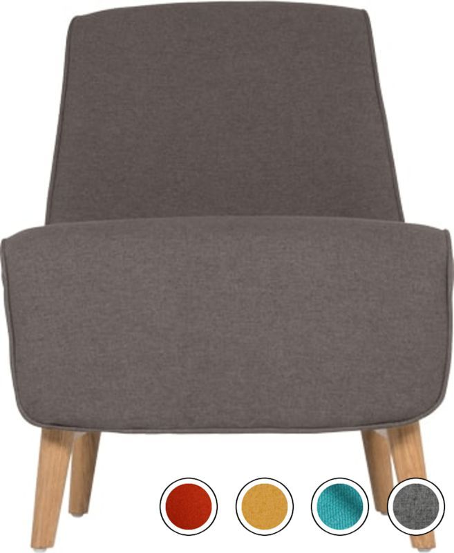 Madison Park Peyton Sarina Accent Chair: Accent Chair In Marl Grey Oak, Leo