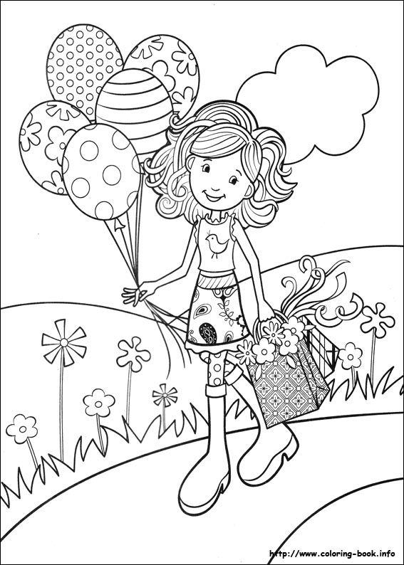 online girls coloring pages - photo#16