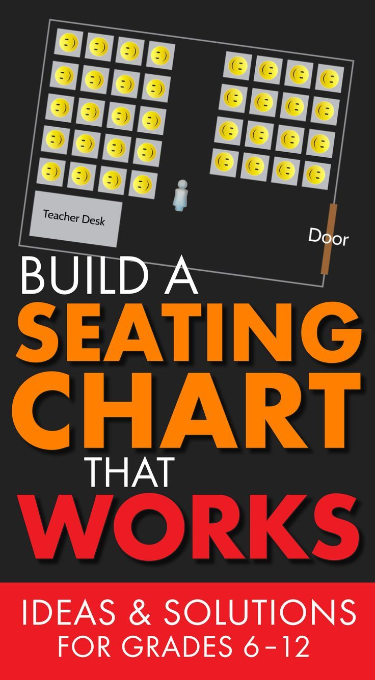 Build A Seating Chart That Works: Ideas And Solutions For Grades 6 12 (  Free Classroom Seating Chart Maker