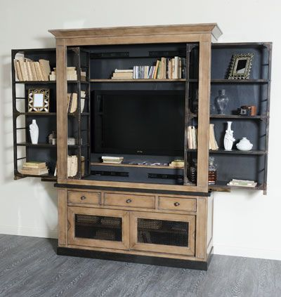 Biblioth que tv brooklyn manhattan bibliotheques meubles tv c t design meubles - Meuble tv bibliotheque ...