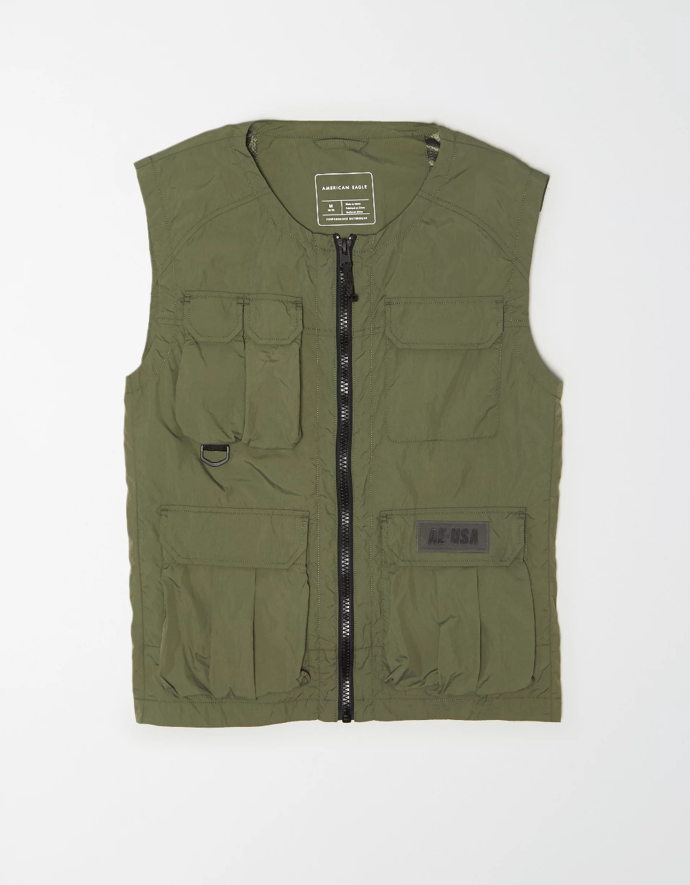 Ae Workwear Vest Mens Outfitters Patches Fashion Work Wear [ 1282 x 1000 Pixel ]