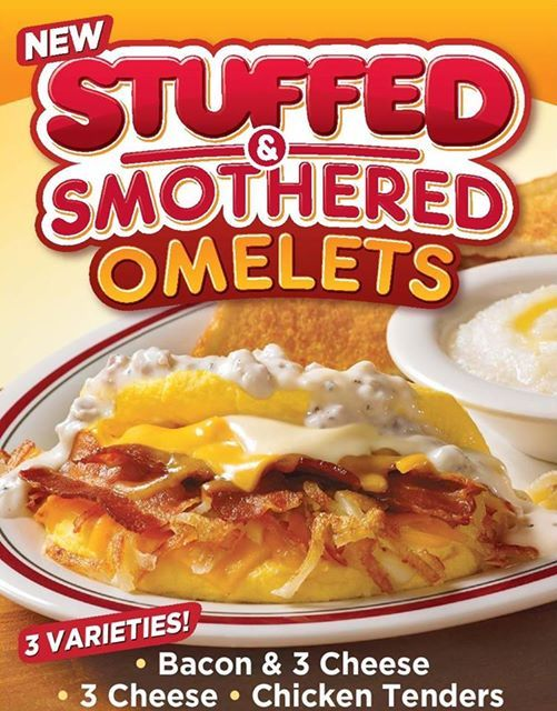 picture regarding Huddle House Coupons Printable identified as Huddle Property: Loaded Smothered Omelets, Simply just $4.99 w