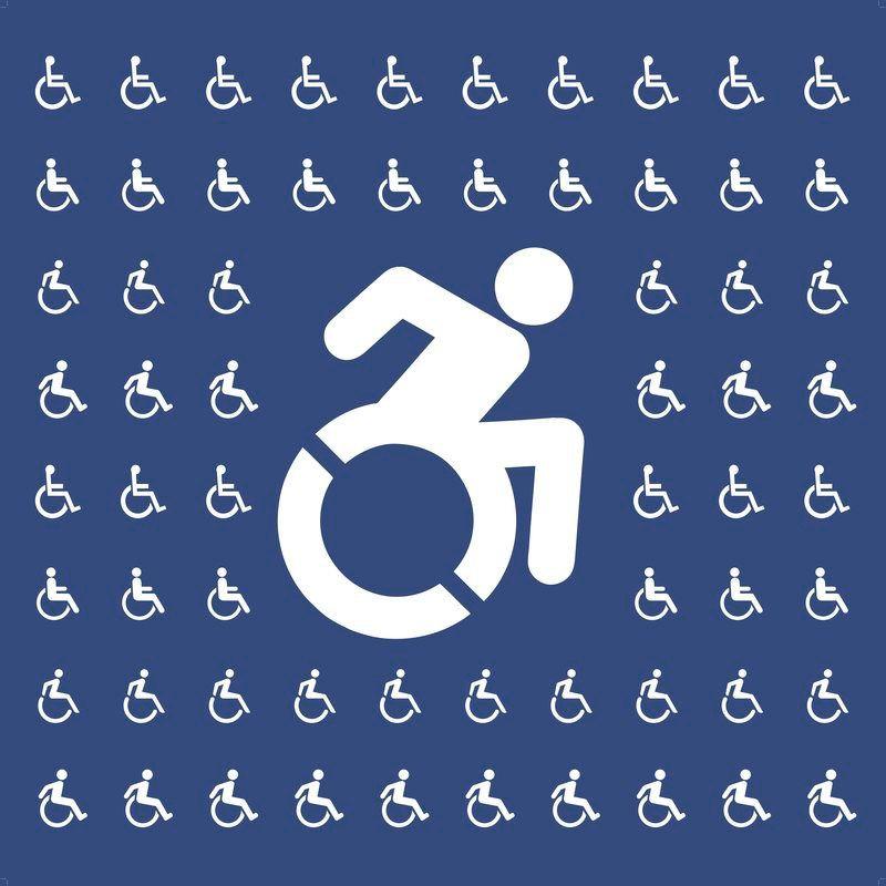 Redesigning The Wheelchair Symbol Into The Accessible Icon Dda Wayfinding Symbols Symbol Design Redesign