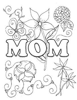 Mother S Day Coloring Page Love Coloring Pages Mothers Day Coloring Pages Coloring Pages