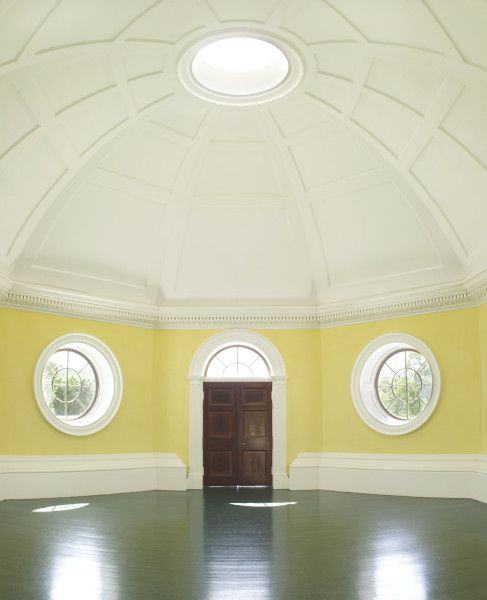 Thomas Jeffersons Monticello Dome Room Charlottesville Virginia