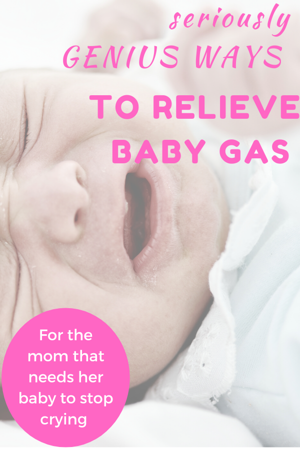 how to stop a gassy baby crying