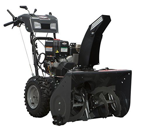 Briggs And Stratton 1696156 Dual Stage Snow Thrower With 250cc Engine And Electric Start 27 Inch Wide Clearing Path With A Briggs Stratton Stratton Briggs