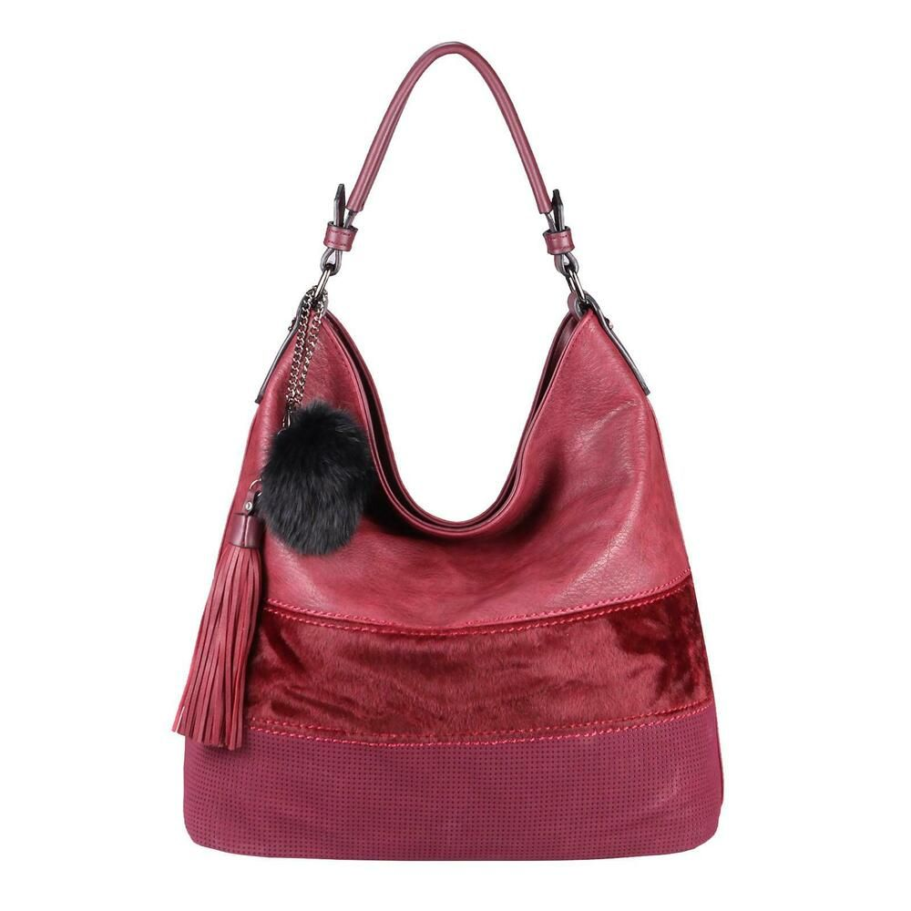 NICOLE /& DORIS Damen Schultertasche Hobo Crossbody Handtasche Casual