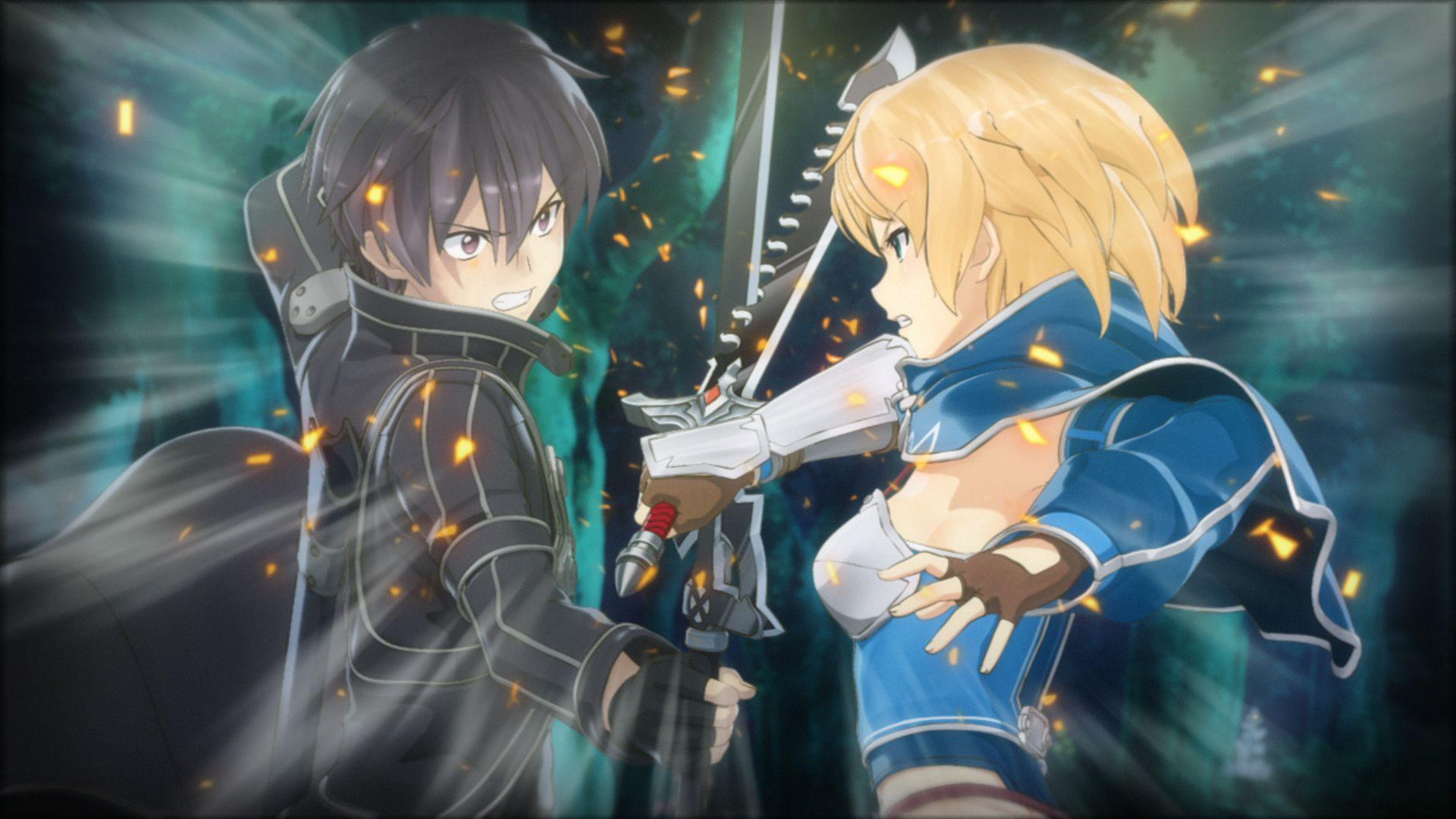 Sword Art Online Makes Its Way to PlayStation 4 Bandai