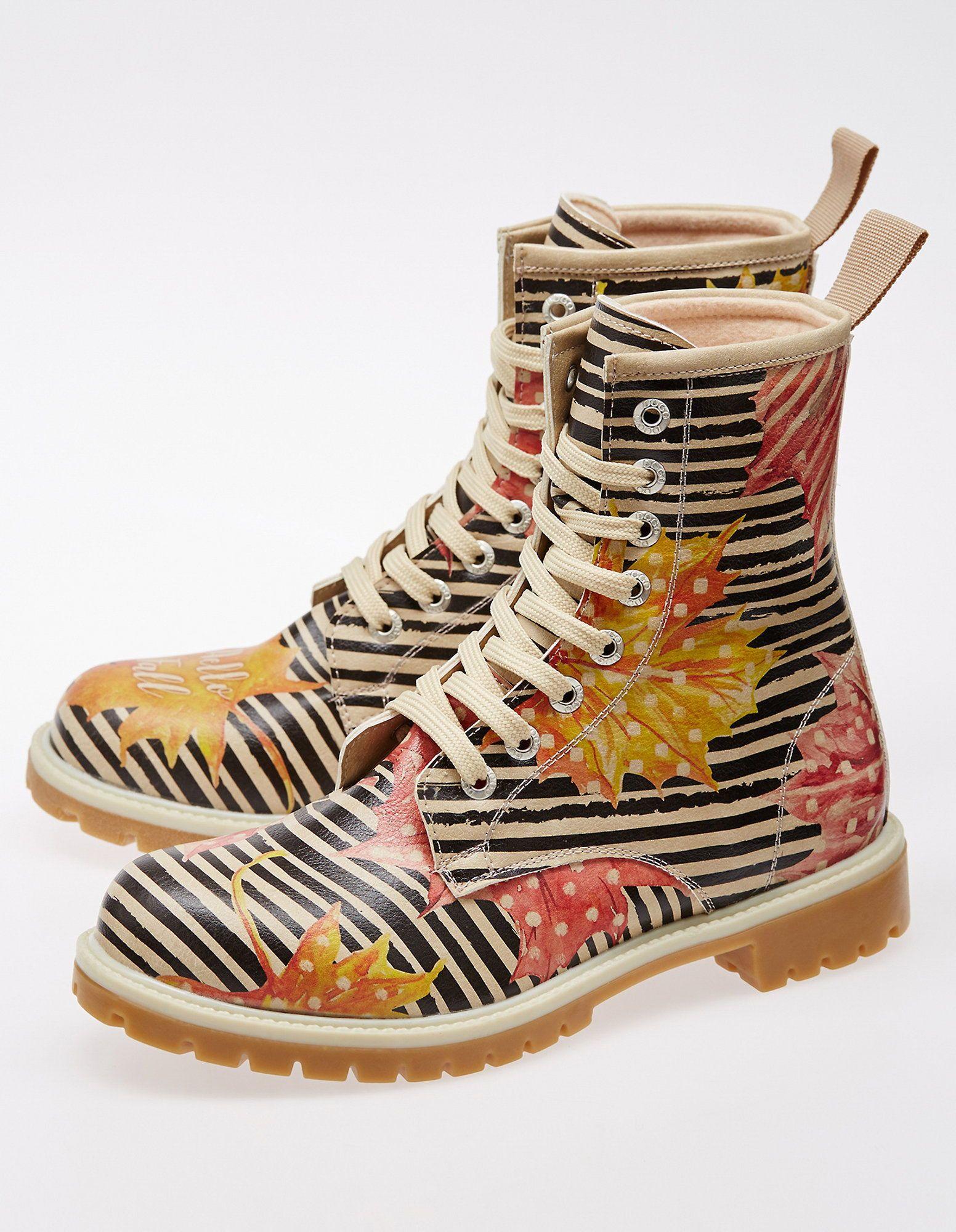 Schöner Hello Dogo Fall Shoes Stiefeletten Können Bunte CxBdoeQWrE
