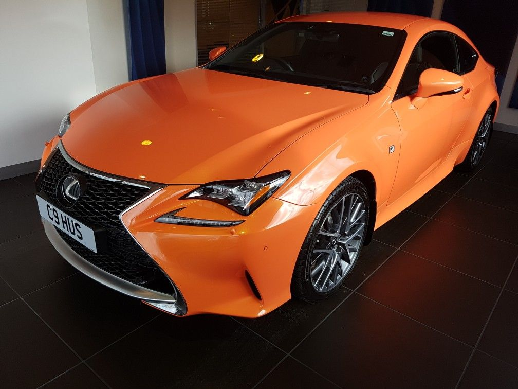 Lexus RC Coupe FSport 200t Turbo Solar Flare Coupe