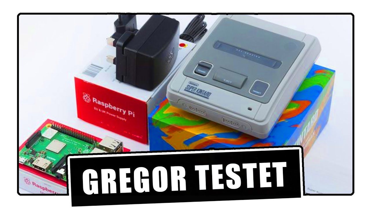 Gregor testet Super Ursus SNES Raspberry Pi / Retropie
