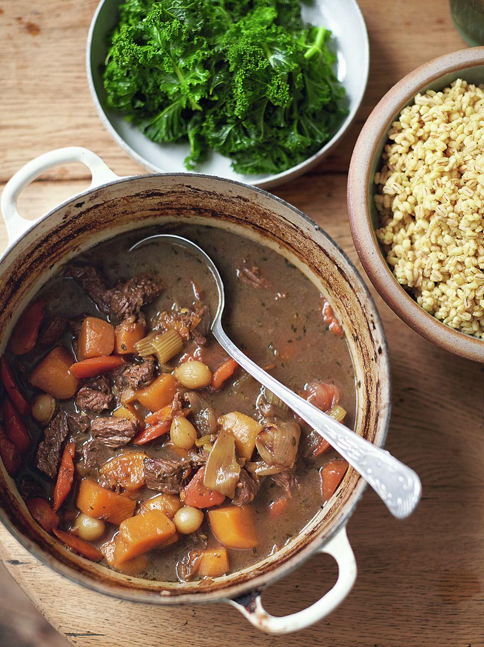 beef guinness stew rezept family super food recipes pinterest jamie oliver. Black Bedroom Furniture Sets. Home Design Ideas