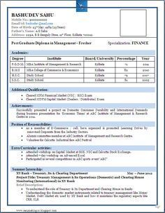 best resume format for freshers resumetemplates