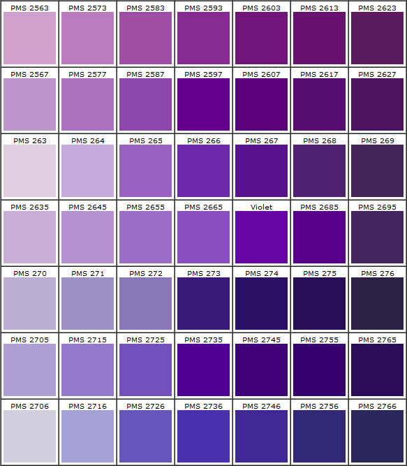 Pantone Knows  Purple  Best Color In World    Pantone