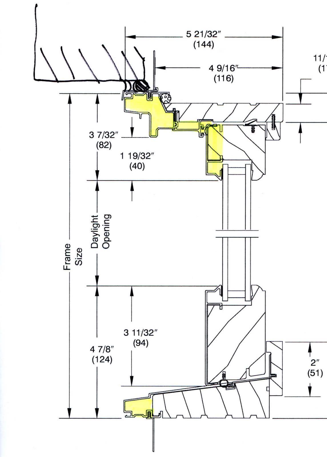 Image Result For Aluminum Clad Door Masonry Opening