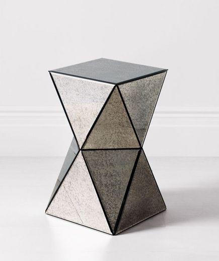 Etonnant 40 Elegant Home Furnishings. Mirrored Side TablesWest ElmFurniture ...
