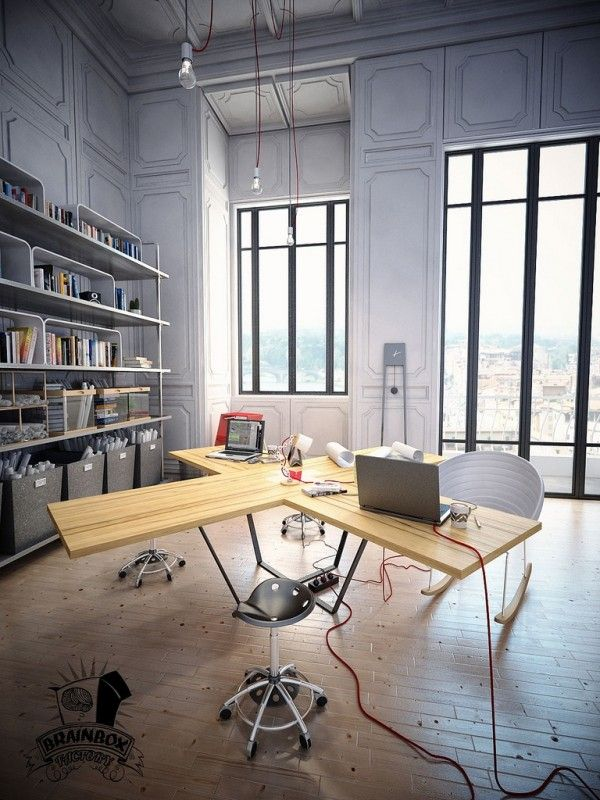 Office table beautiful home Furniture Beautiful Home Offices Workspaces Pinterest Beautiful Home Offices Workspaces Darbo Vieta Office Workspace
