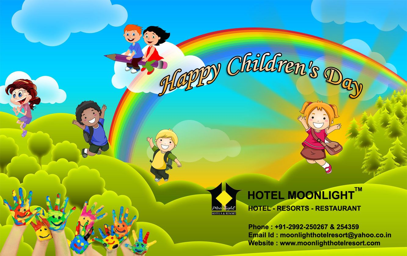 Happy Childrens Day Greetings From Hotel Moonlight Pinterest