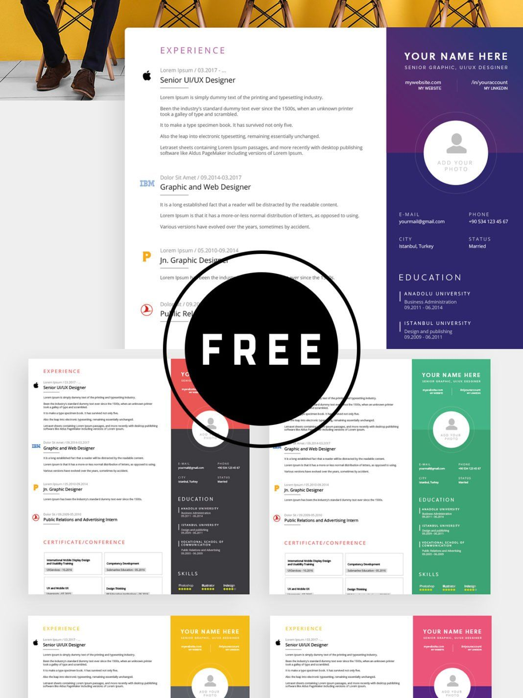 98 awesome free resume templates for 2019 resume