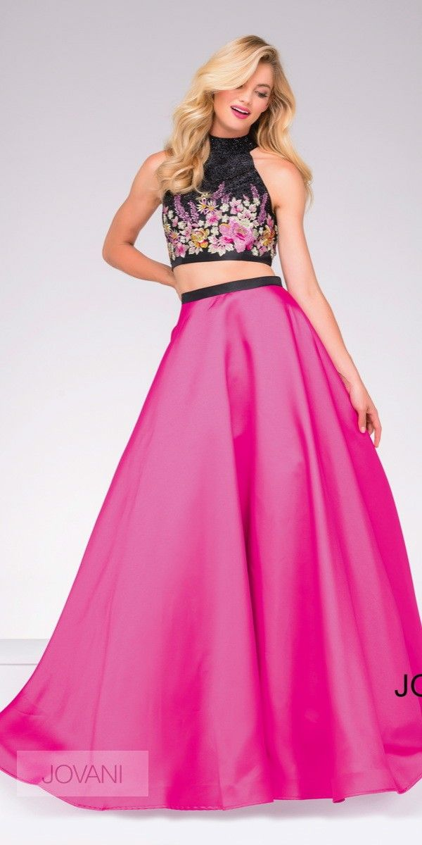 Hot-Pink-and-Black-Two-Piece-Dress-Jovani-33-59350_4__opt_7.jpg 600 ...