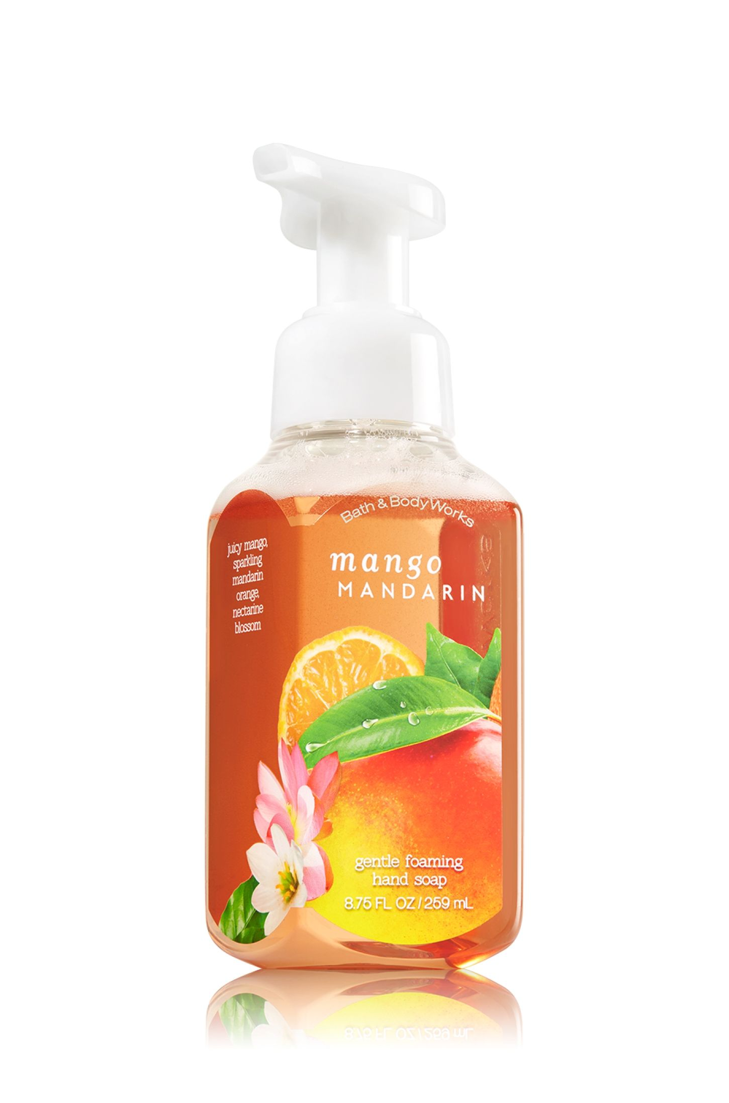 Mango Mandarin Gentle Foaming Hand Soap Soap Sanitizer Bath