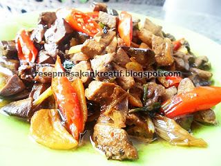 Resep Hati Ayam Tumis Bumbu Kecap Memasak Resep Resep Masakan