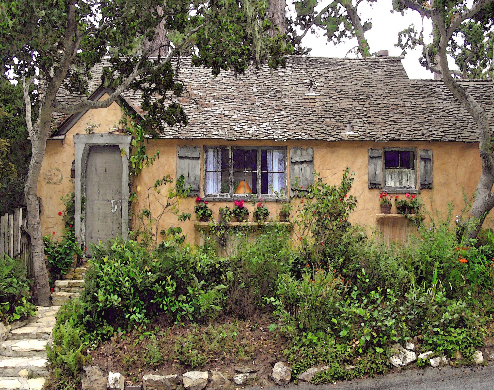 Sunwiseturn Hugh Comstock Fairytale Cottage