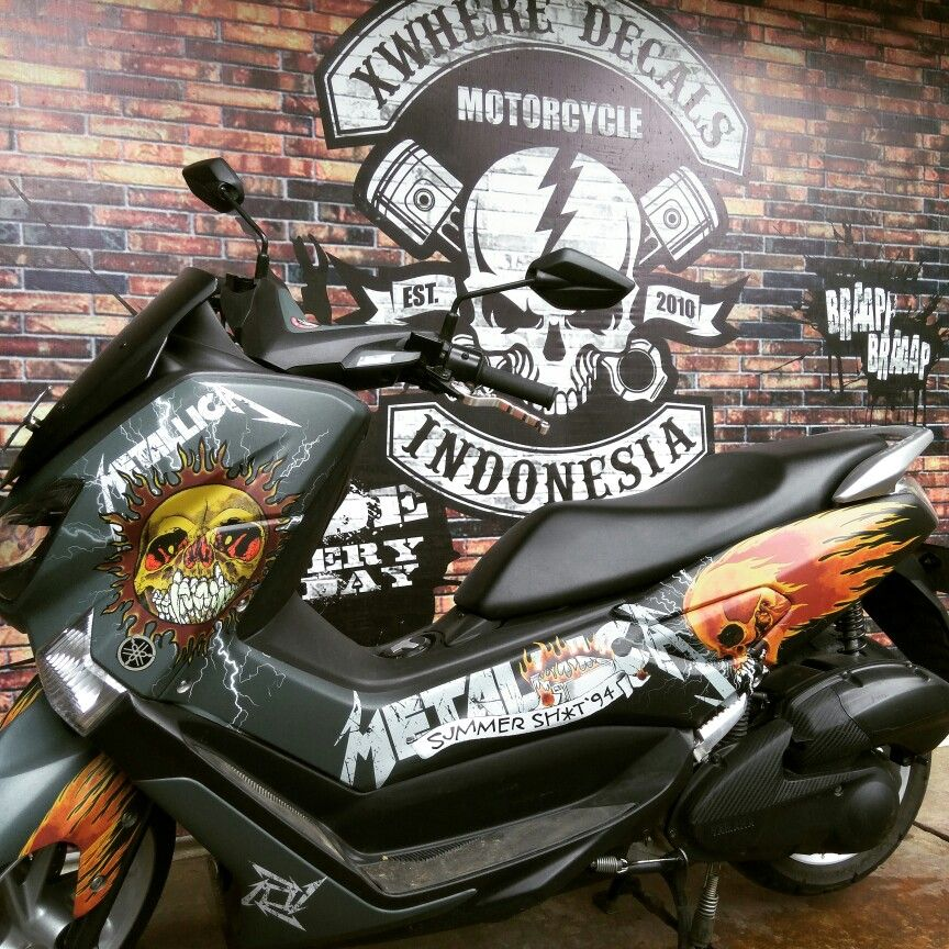 Custom Graphics For Yamaha Nmax 155 Please Follow Instagram Xwhere Decals