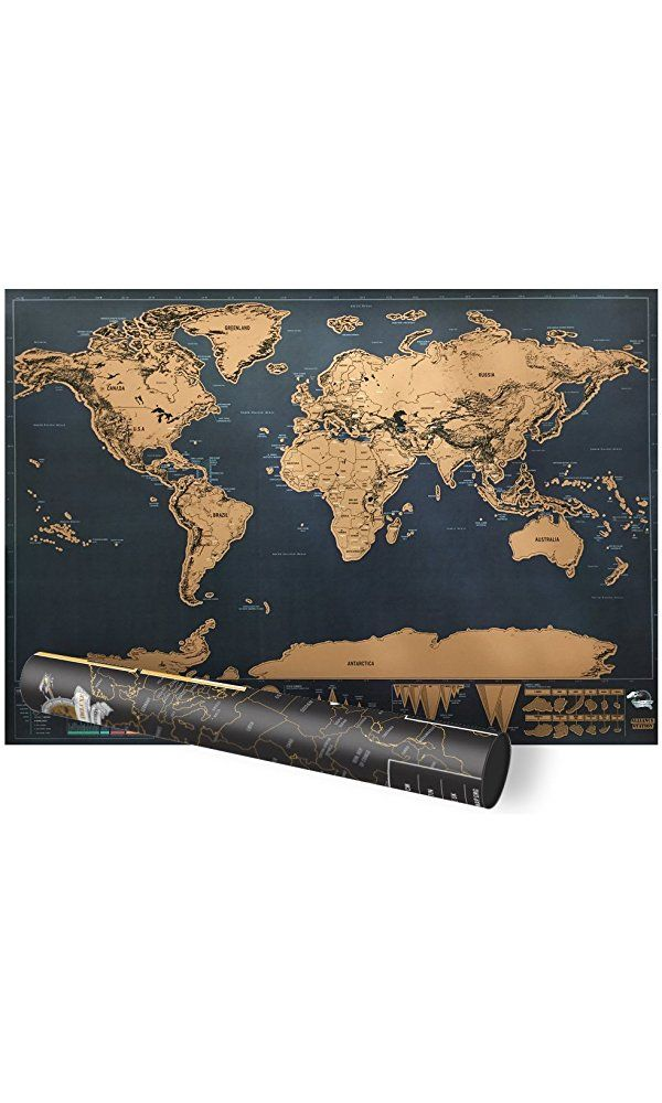 Scratch world map proboths portable travel world mini scratch map scratch world map proboths portable travel world mini scratch map luxury black world wall map gumiabroncs Image collections
