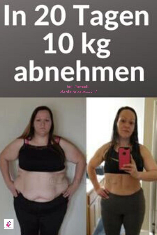 In 20 Tagen 10 Kilo abnehmen