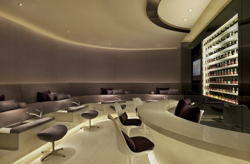 Nail Bar Spa Interior Design Spa Interior Hospital Interior Design