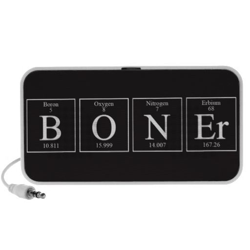BONEr periodic table elements Doodle Speaker Combined element of - fresh periodic table of elements with everything labeled on it