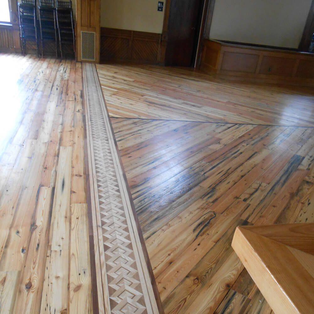 Palazzo Wood Border Maple Floor Border By Oshkosh Designs Flooring Hardwood Floors Wood Floors