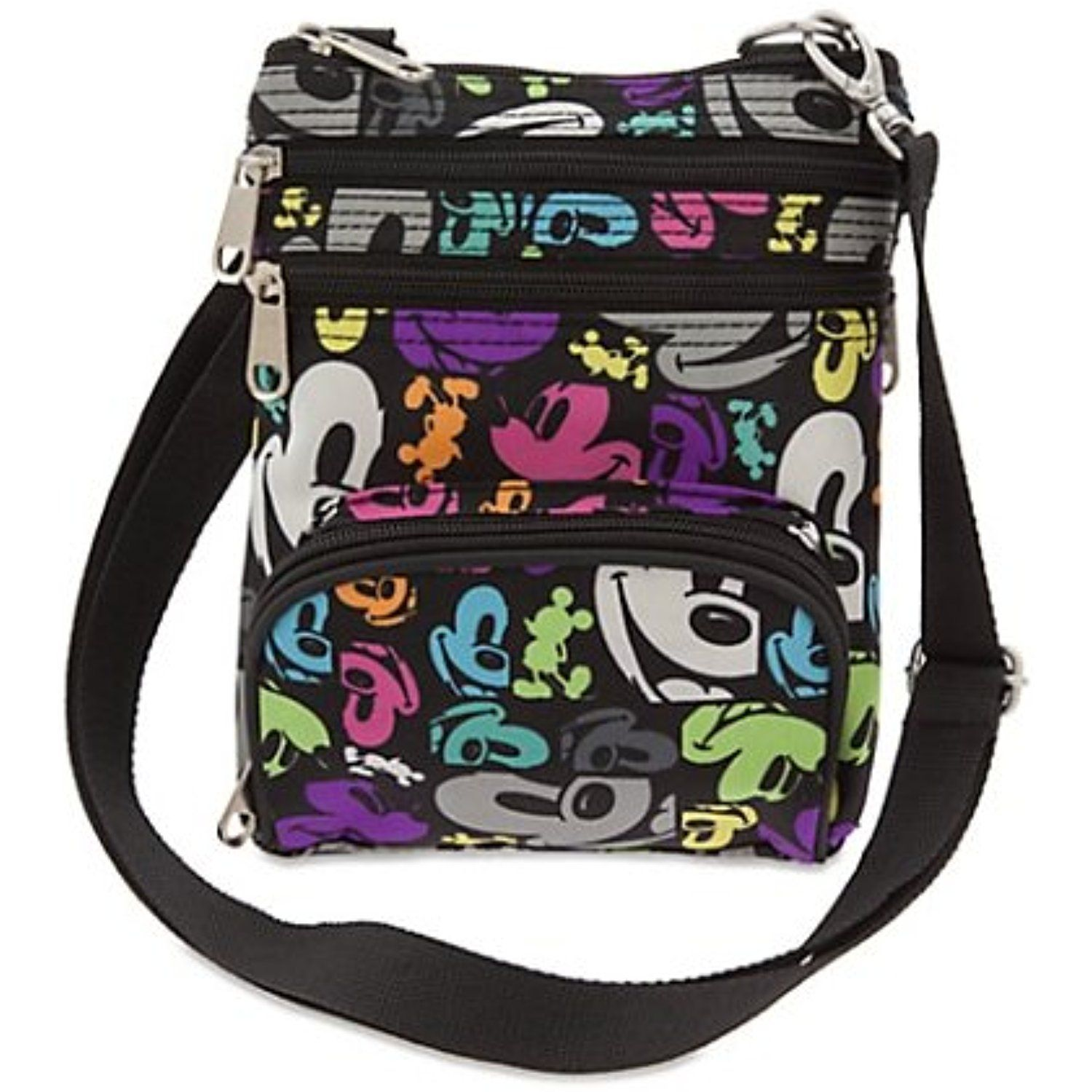 f3aa9457a14 Disney Parks - Crossbody Bag - Mickey Mouse Colorful Pop Art     Click  image to review more details. (This is an affiliate link)   EntertainmentCollectibles