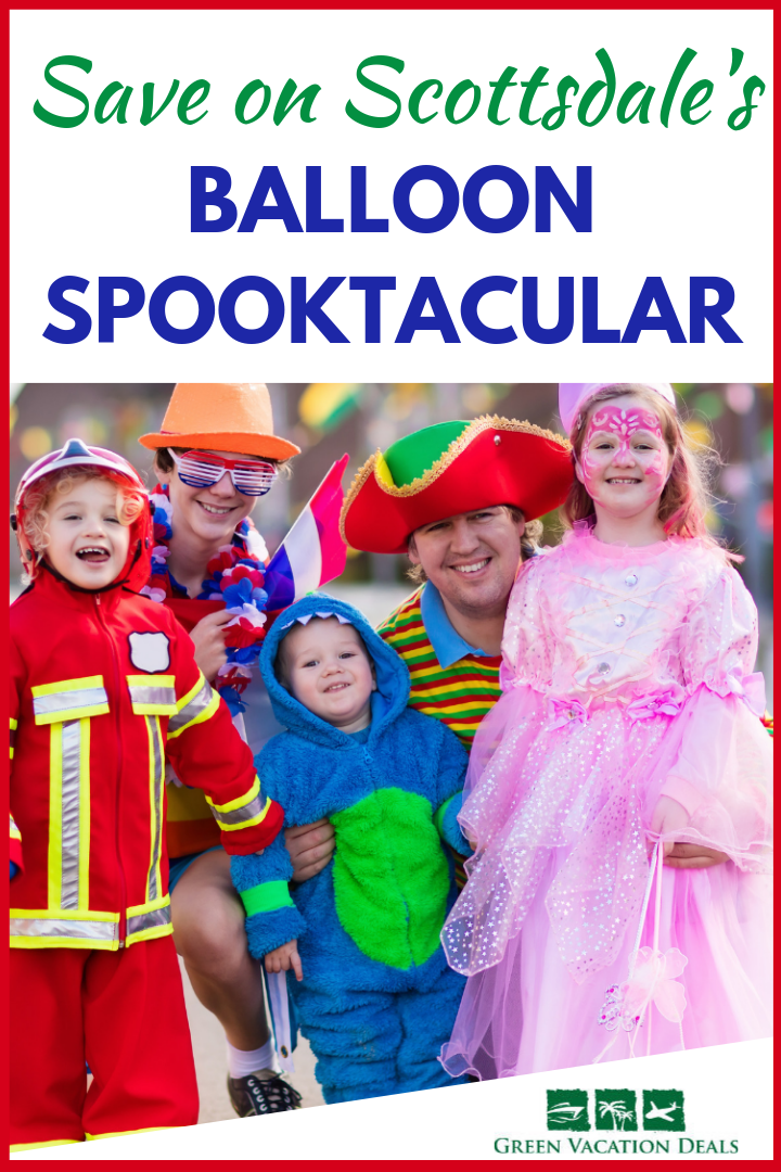 Scottsdale Arizona's Balloon Spooktacular Coupons Hot