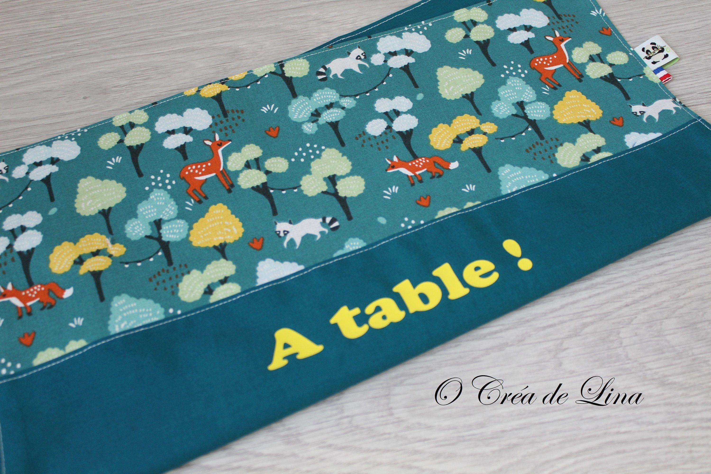 Serviettes De Tables En Coton Et Nid D Abeille Zero Dechet Imprimes Graphiques Coloris Au Choix Wallet