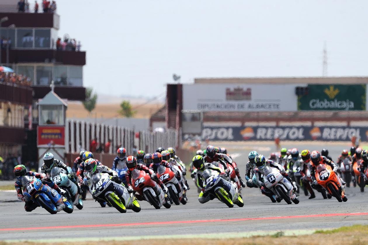 Mundial de Moto3 Junior arranca este domingo em Albacete