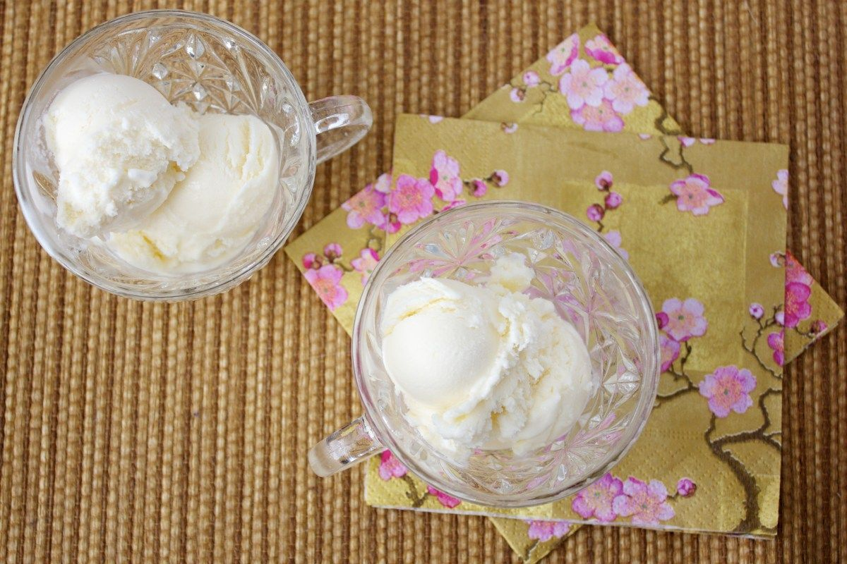 Lazy Day Buttermilk Ice Cream With No Eggs Or Cooking Buttermilk Ice Cream Ice Cream Homemade Buttermilk