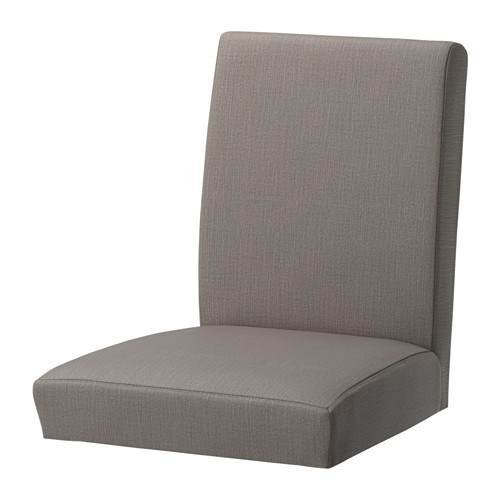 Henriksdal Stuhlbezug Nolhaga Graubeige Ikea Deutschland Henriksdal Chair Cover Ikea Dining Chair Dining Chair Slipcovers