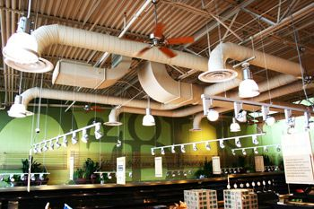 Exposed Ductwork Google Search Hvac Design Exposed Ceilings Hvac